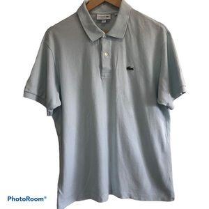 Lacoste Men's Light Blue Classic Fit Polo Sz XL